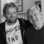 Stein Berge Svendsen og Finn Kalvik