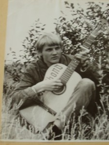 Finn Kalvik som ung mann