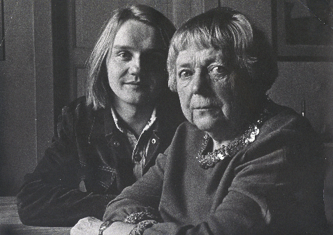 Finn Kalvik og Inger Hagerup