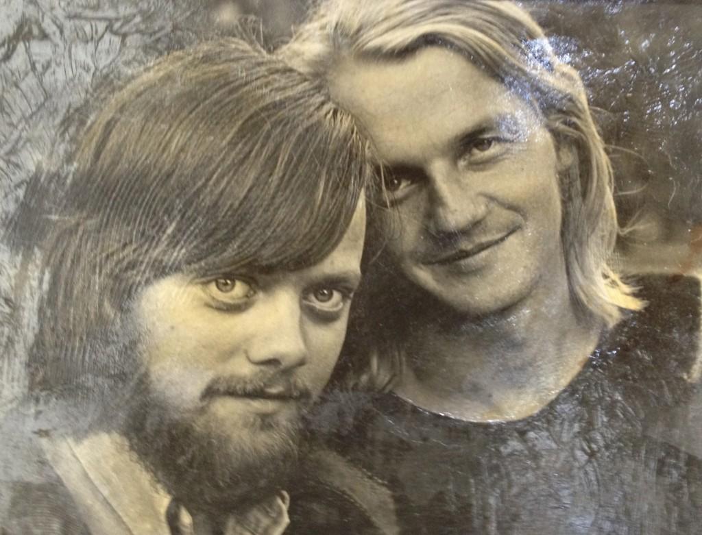 Lillebjørn Nilsen og Finn Kalvik